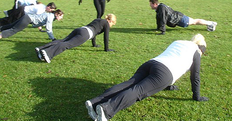 Image for Group Ex Class: Outdoor Bootcamp