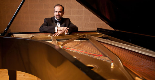 Image for Faculty Artist Recital - Hamilton Tescarollo, piano