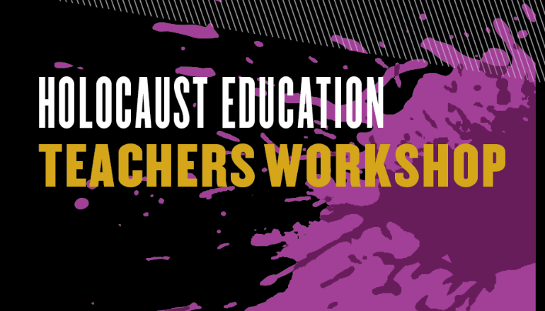 Image for Holocaust Education Workshop for Teachers