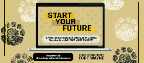 Image for Spring Graduate Information Session on Zoom